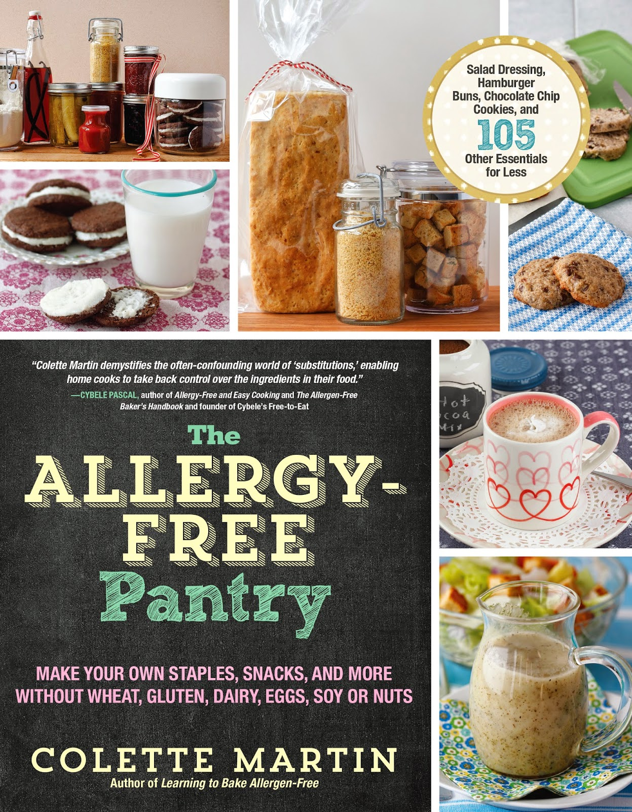 Learning to eat allergy free 2014 the allergy free pantry goes beyond baking including recipes for everything you need to stock your pantry to replace the processed foods you used to buy at forumfinder Images