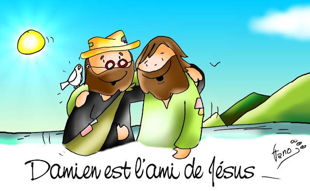DAMIEN DE MOLOKAI AMI DE JESUS
