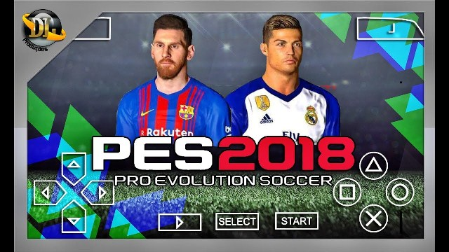 pes 2018 psp iso تعليق عربي