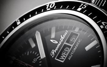Wallpaper: Watch. Time. Prometheus Automatic