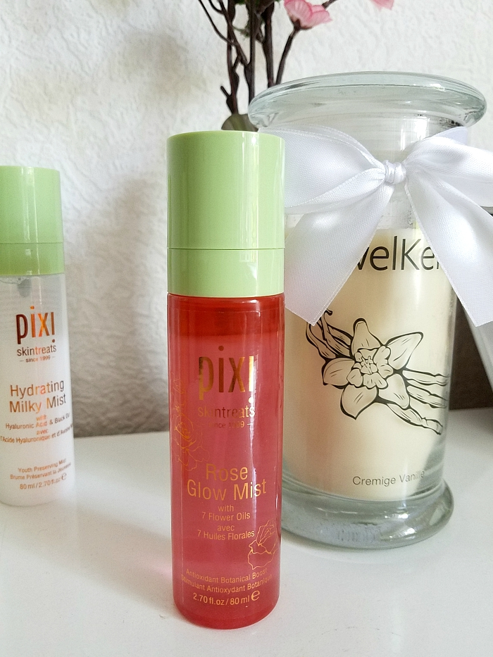 pixi Beauty Skintreats - Face Mist Review - Rose Glow Mist Antioxidant Botanical Boost - Madame Keke - Review