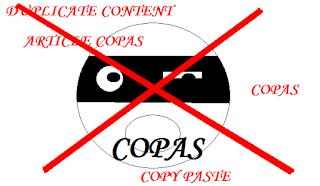 Cara ampuh Agar artikel posting blog tidak bisa di copy paste
