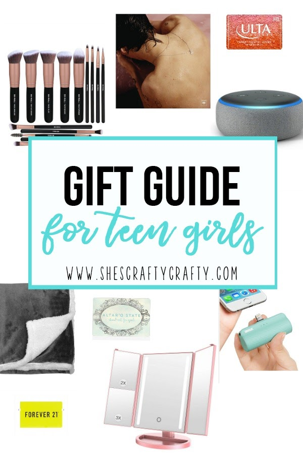 Gift Guide for Teen Girls, what to get a teen girl