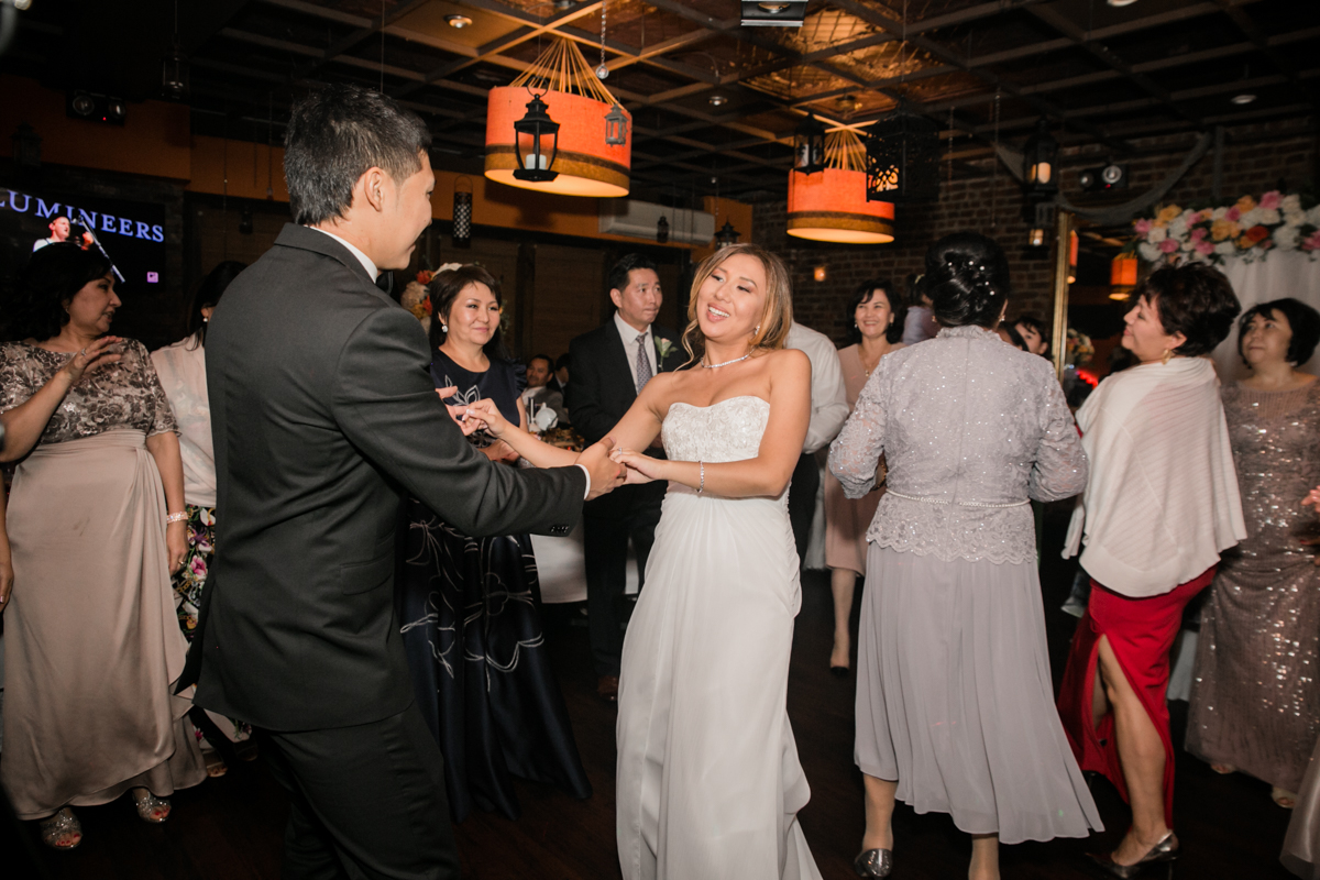 Bride and Groom enjoy more special moments together on the dance floor.