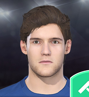 PES 2018 Faces Marcos Alonso by Volun