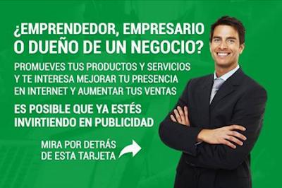My Advertising Pays - tarjetas de visita y webs de promoción en tusalarioaqui.blogspot.com.es