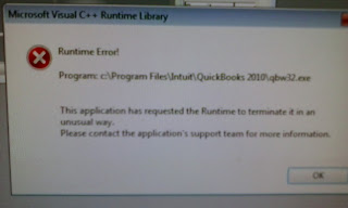 Fix Problem Runtime Error Of QuickBooks