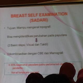 Mengenali dan Berupaya Mencegah Kanker Payudara Melalui Breast Cancer Awareness Seminar 2017 Swiss-BelHotel Harbourbay Batam 14
