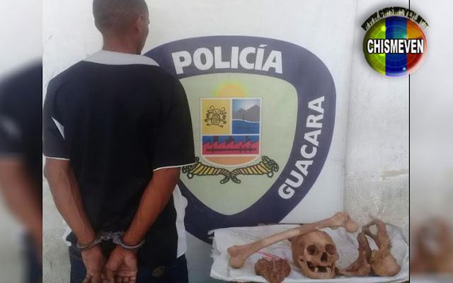 Sorprendido robando huesos humanos en el Cementerio de Carabobo