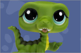 LPS Crocodile Figures