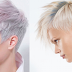 Pixie hair in pastel colors