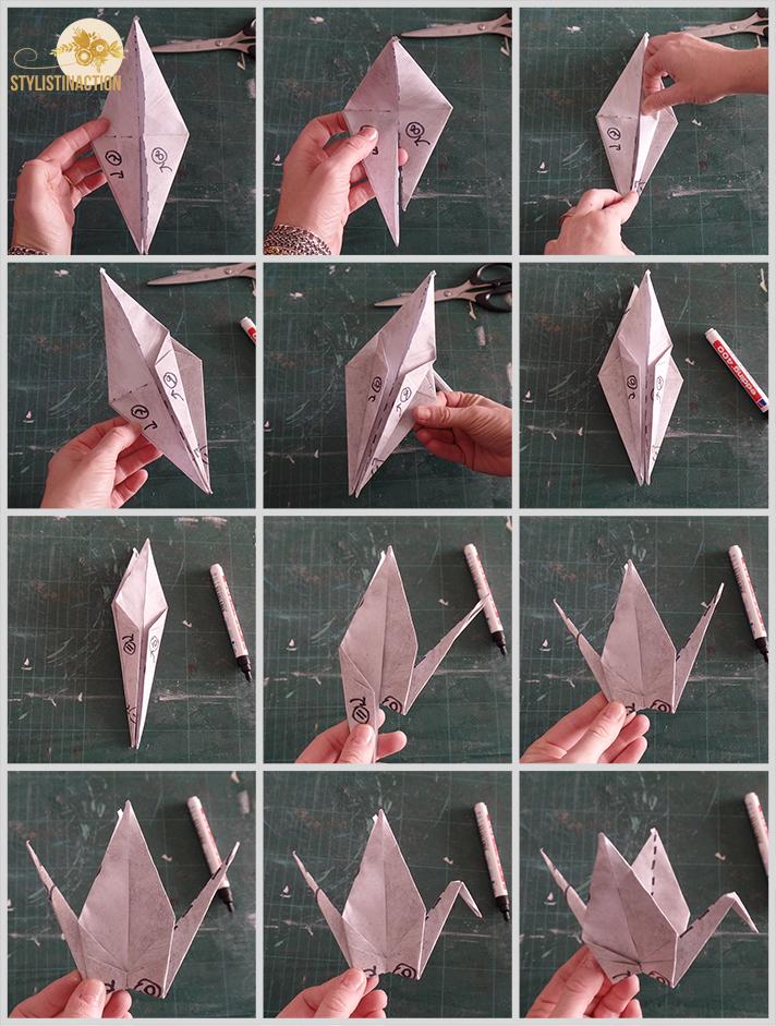 DIY grullas y borlas -Paso a paso parte 2
