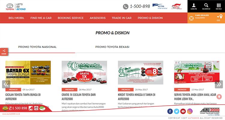 Panduan Membeli Mobil Baru di Dealer Toyota Auto2000 Bekasi