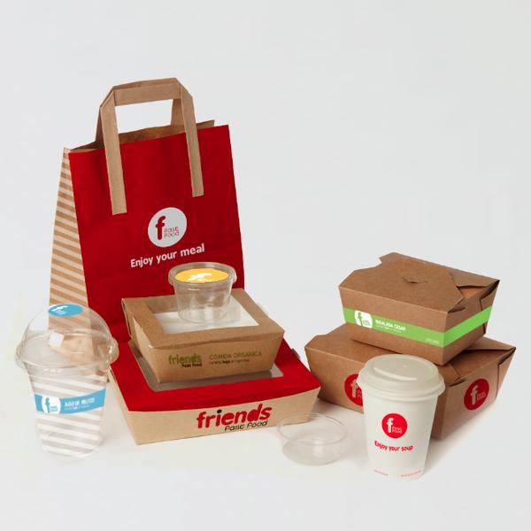 Branding : Friends Fast Food By Maihaus Design Studio