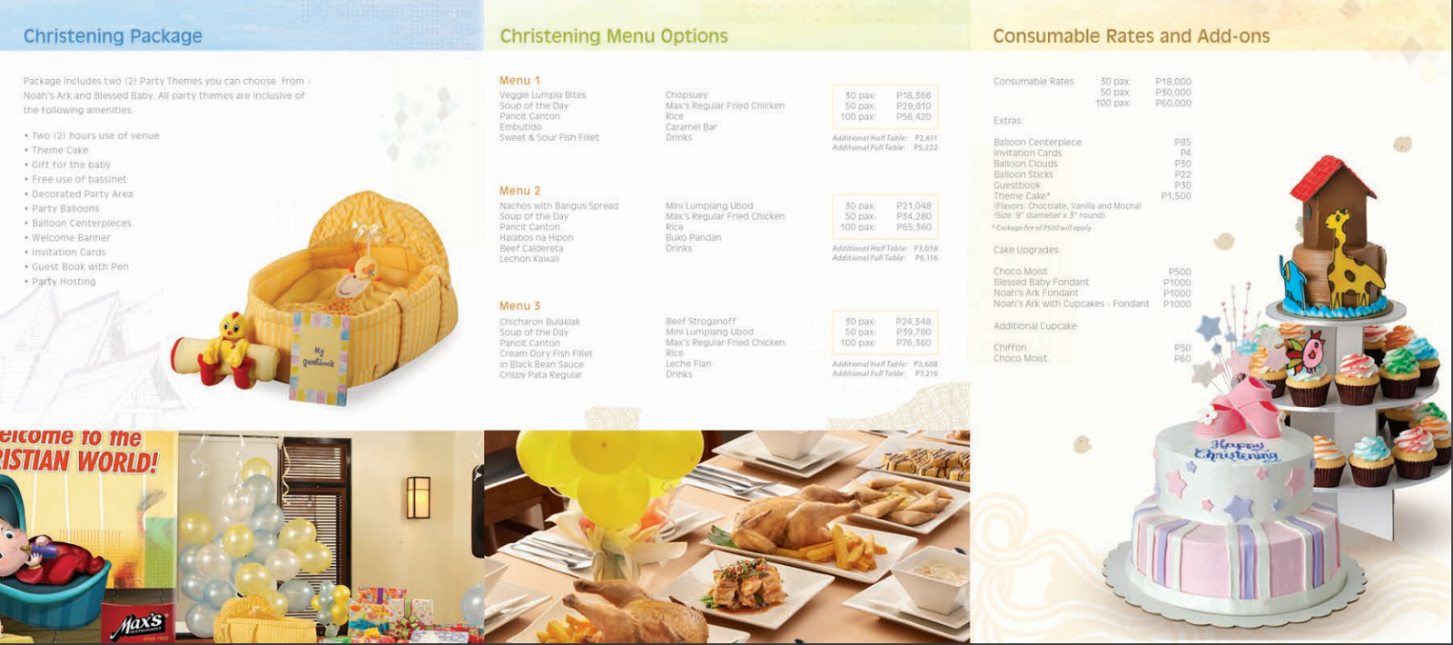 Fast Food Party Packages Philippines