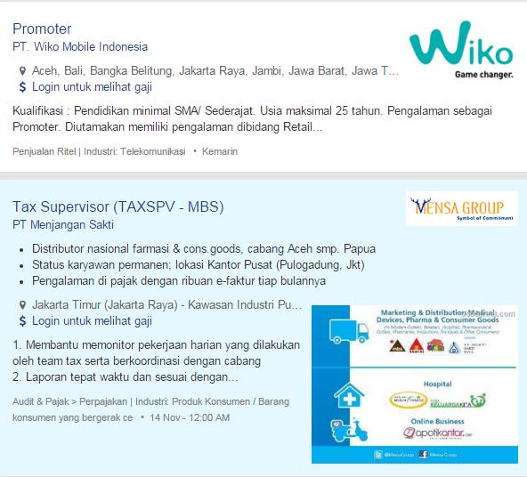 Lowongan Kerja Terbaru Aceh Ilmu Pengetahuan 2