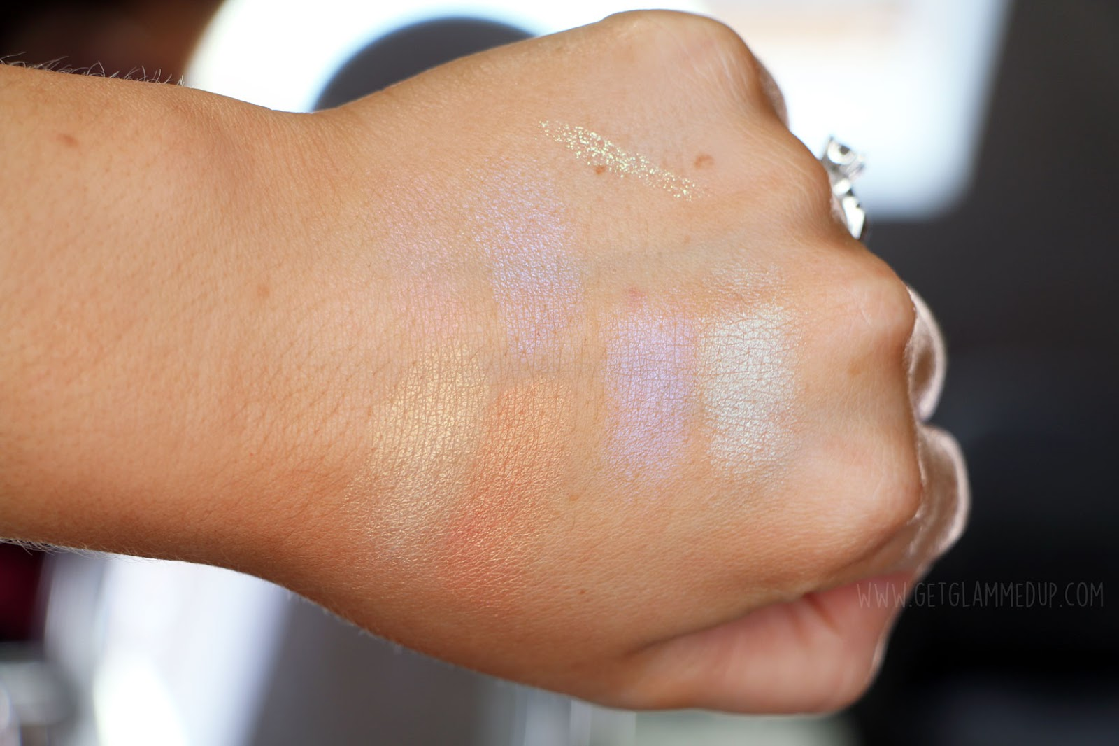 e.l.f. Cosmetics Prismatic Highlighting Duo Swatches