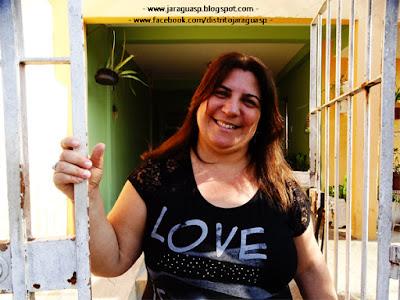 A professora Lilian viveu sua infância na Vila Nossa Senhora da Conceição