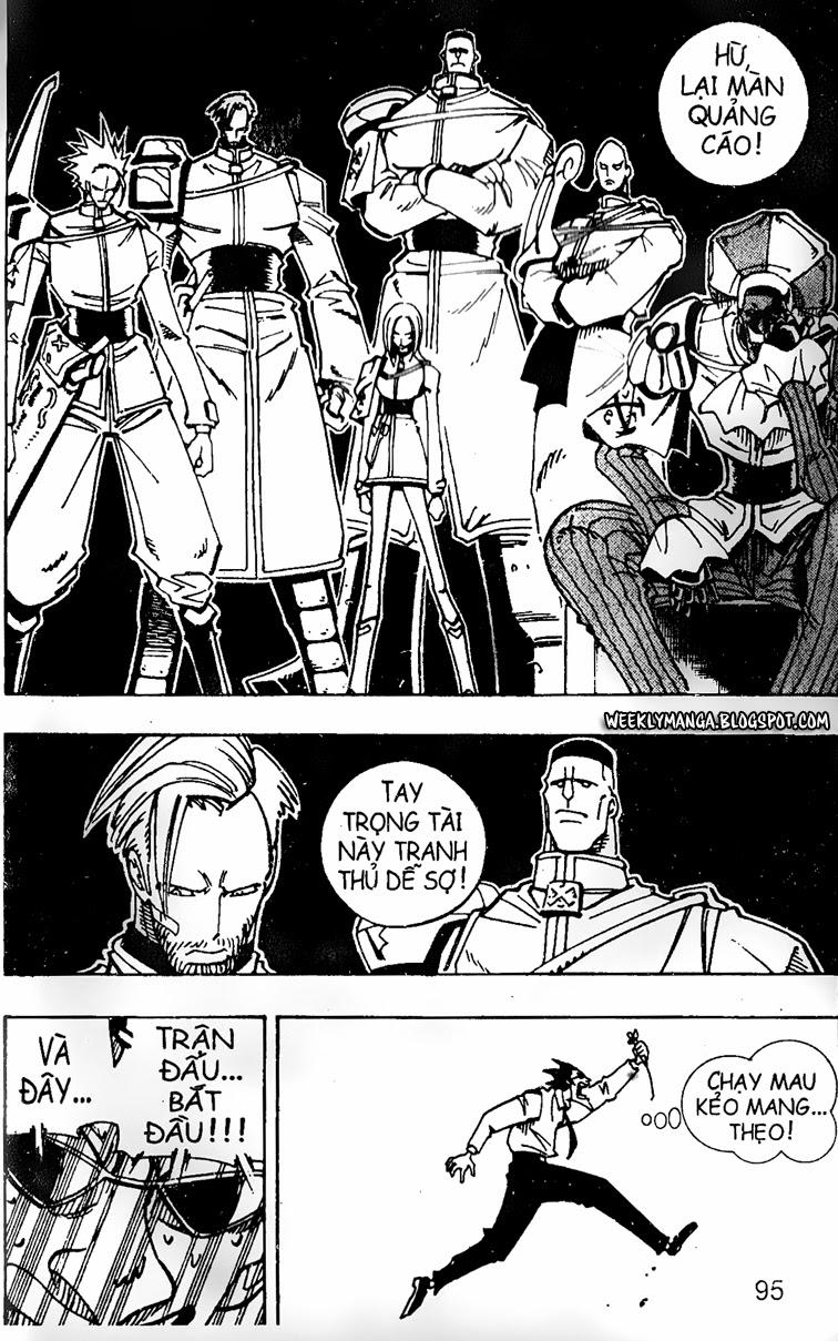 Shaman King [Vua pháp thuật] chap 121 trang 19