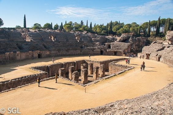 Conjunto arqueologico de Italica. Sevilla