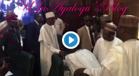 JUST IN: Buhari Meets Fayose, Other 35 State Govs In Aso Rock ...Watch Videos