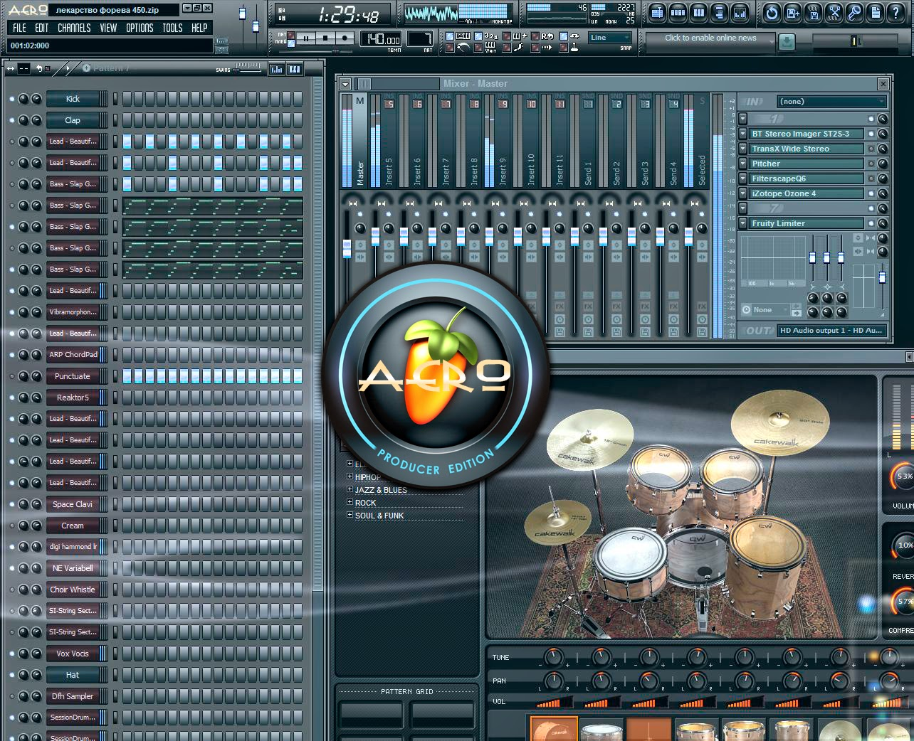 Fl studio 20.0.5.681 registration key Features