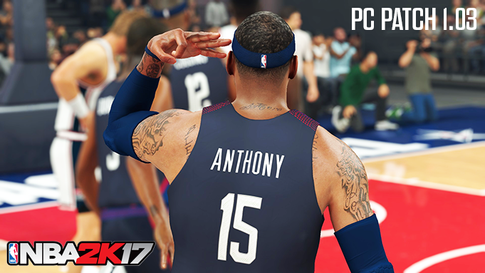 NBA 2K17 PC Patch v1.03