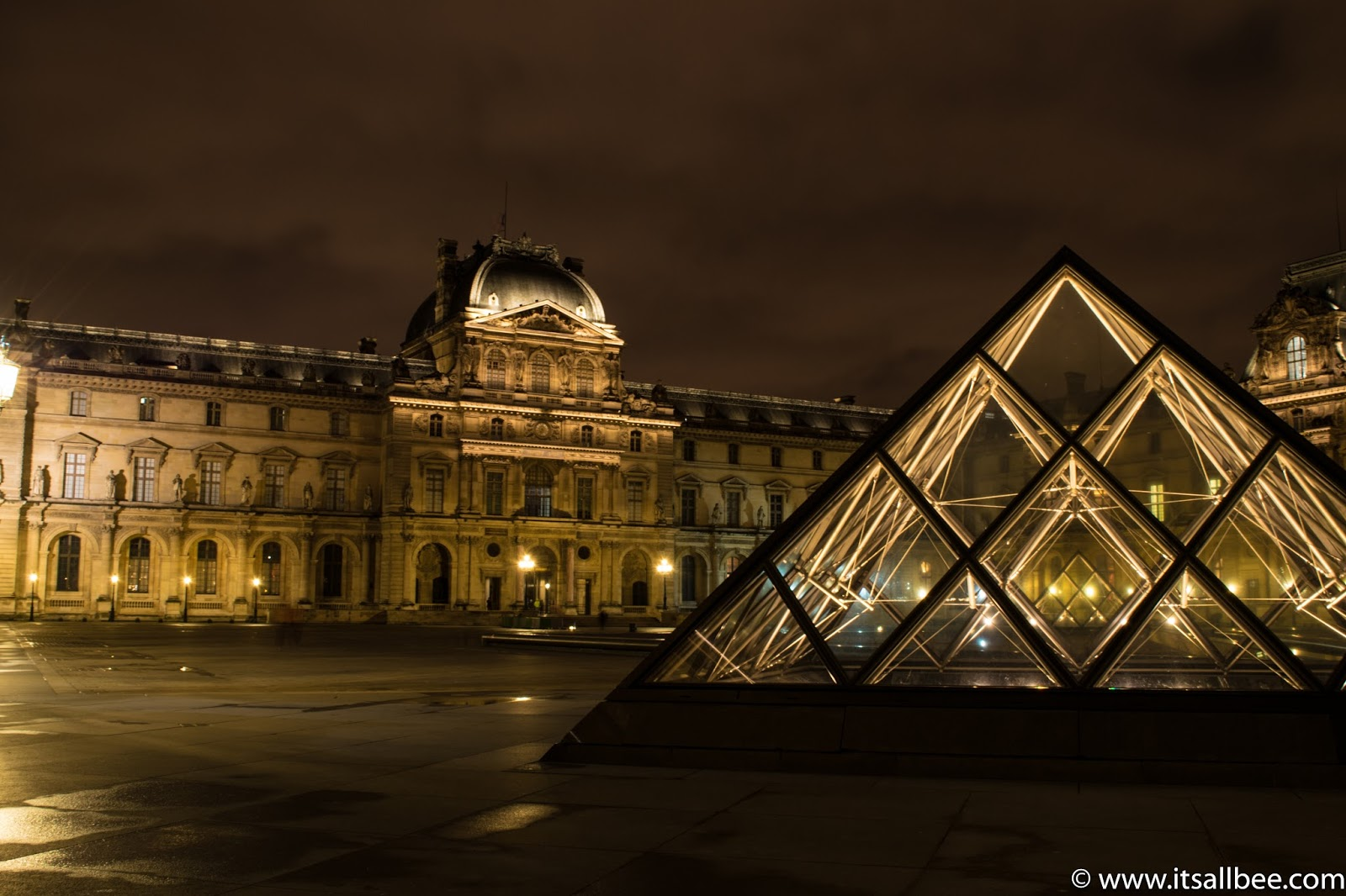 The Louvre Paris. Photo by Bianca - www.itsallbee.com
