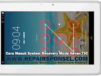 Cara Masuk Recovery Mode Advan T3C