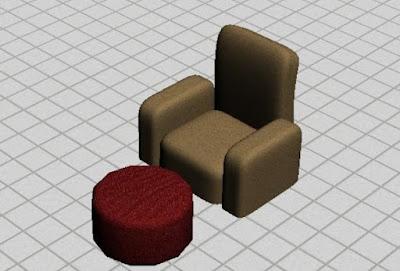 Tutorial Membuat Sofa dan Meja di 3Ds Max