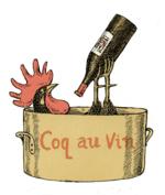 Coq au vin, comic