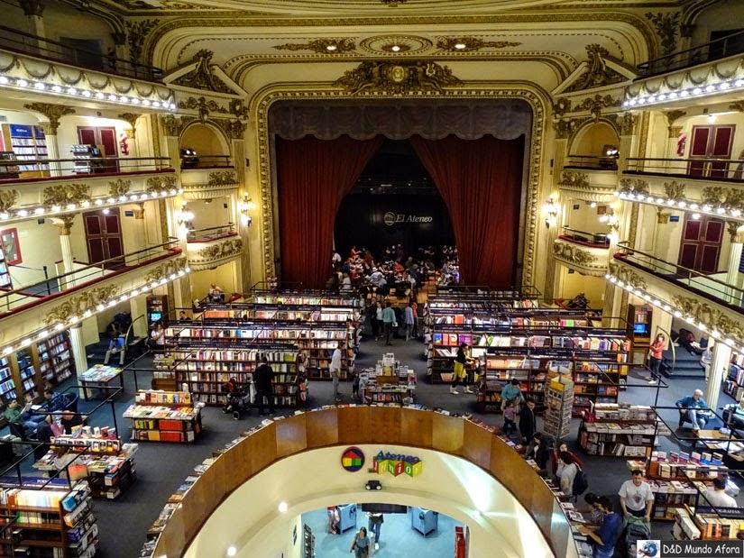 Livraria Ateneo Buenos Aires Argentina