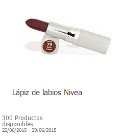 producto gratis toluna lápiz de labios nivea