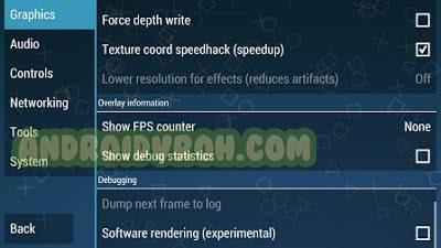Cara Mengatasi Black Screen Pada Emulator PPSSPP Android