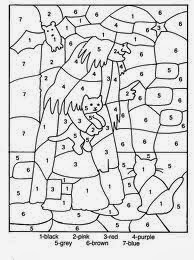 Halloween Coloring Pages By Number 3