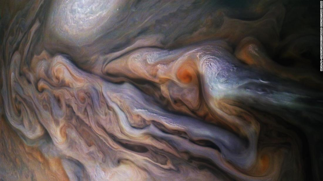 NASA Sent Juno Spacecraft To Jupiter in 2011, And It Got Back Mesmerizing Works Of Art