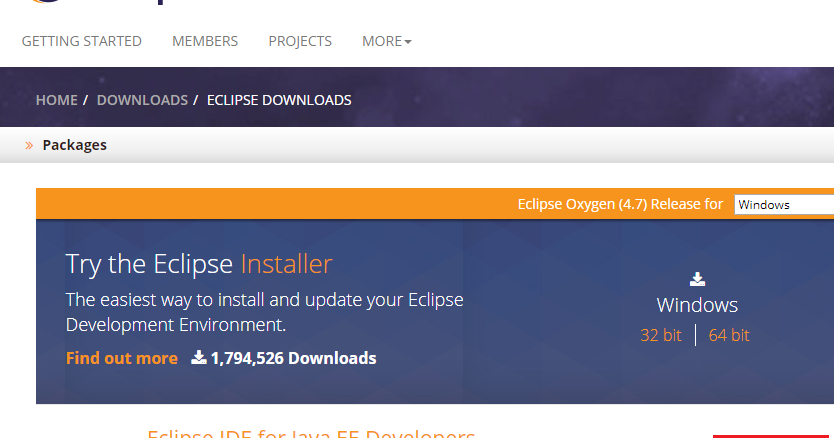 Eclipse oxygen 32 bits download | Download Eclipse 4 2 2 (32