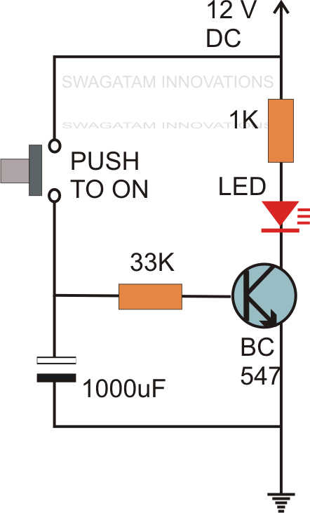 Hobby Electronics Circuits: Simple Delay Timer Circuits Explained