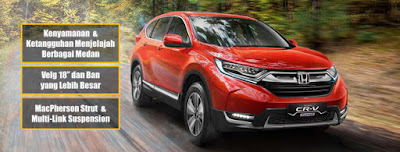 GC All New CRV Tinggi
