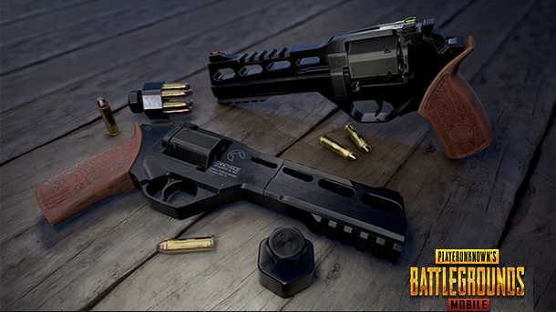 pubg mobile, pistol, senjata terbaik,