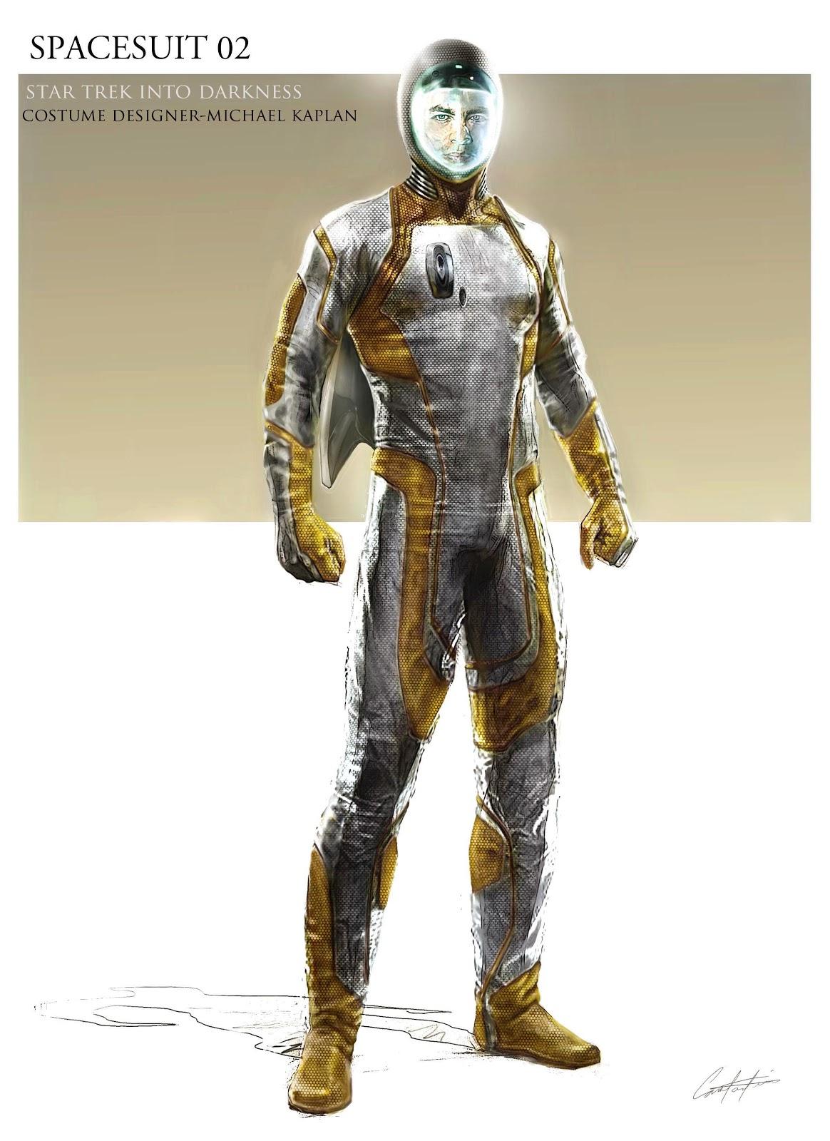 STAR TREK INTO DARKNESS Spacesuit, Klingon and Alien ...