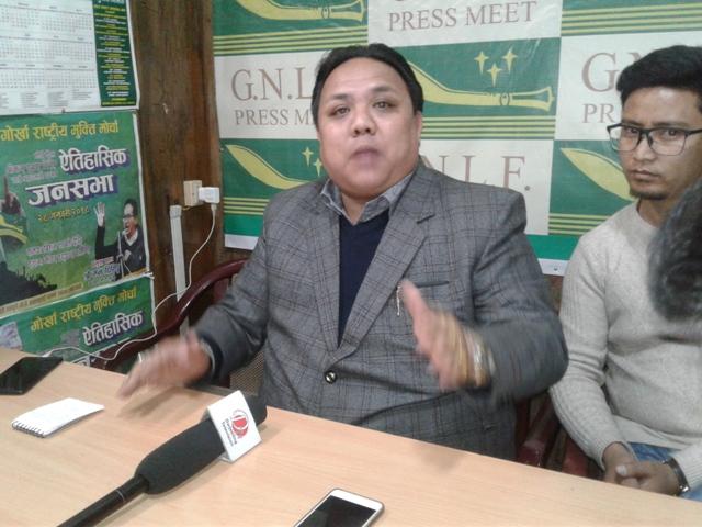 Niraj Zimba GNLF spokesperson