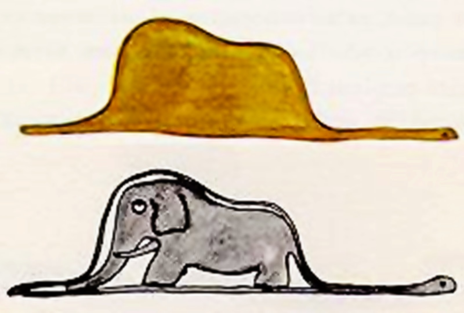 writing a cv is like eating an elephant picture