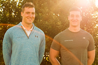 The Muscle Mechanics founders and brothers, Matthew and Theo Wallis