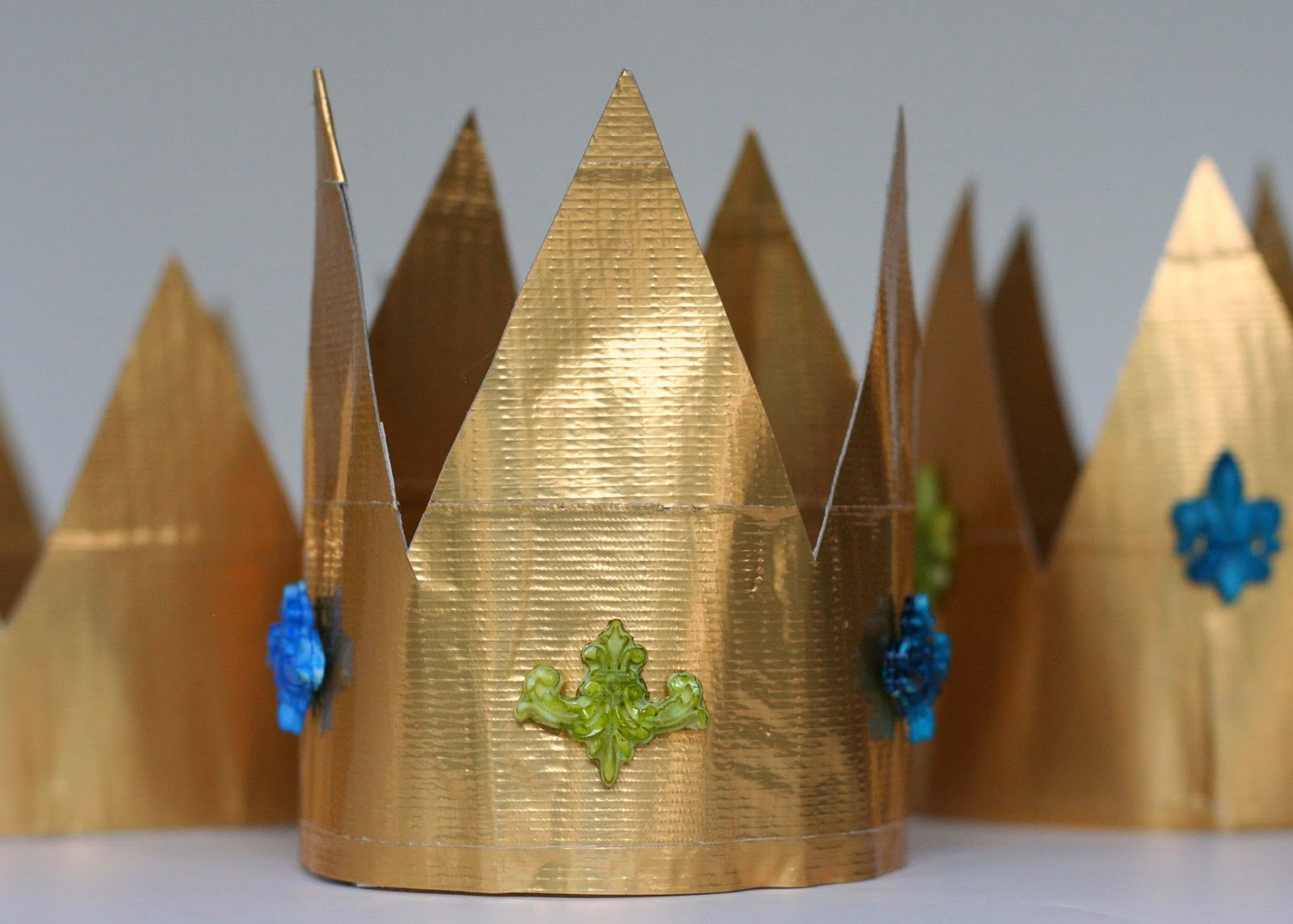 Father S Day King For A Day Duct Tape Crown