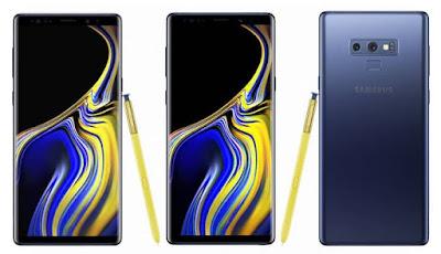 Spesifikasi Dan Harga Samsung Galaxy Note 9