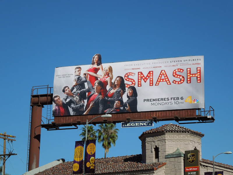 Smash TV billboard
