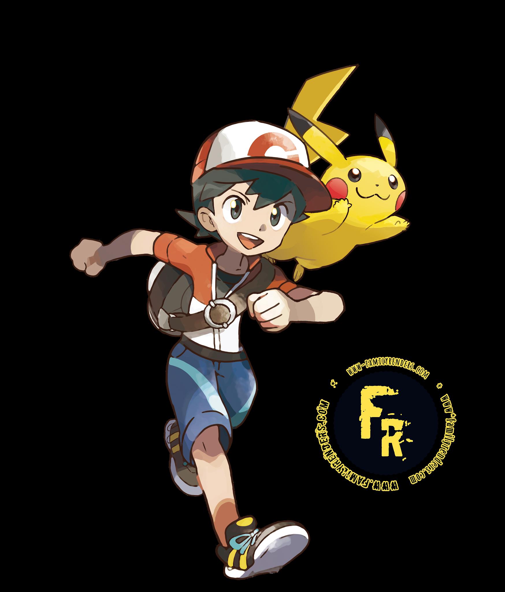 render lets go pikachu