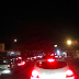 Largo Urbana congestionado sentido norte