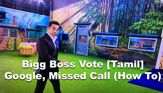 See How to Vote for your Favorite  BiggBossTamil Contestants  Vote     Bigg Boss Voting  TAMIL  2017  See How to Vote on Google  Missed